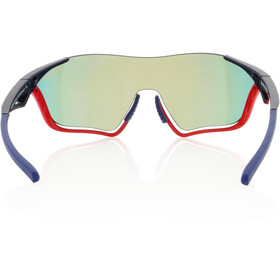 Red Bull SPECT Flow Lunettes de soleil, glossy red/glossy blue/smoke-red